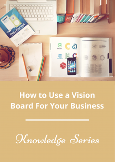 vision board for your business